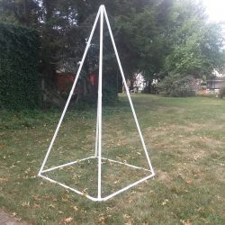 Extra Large White Pyramid