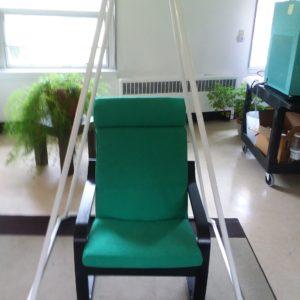 IKEA Poang Chair Inside Medium Pyramid