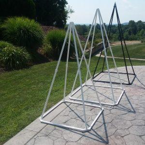 Small, Medium and Large Pyramids