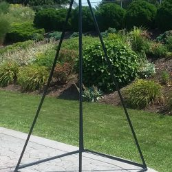 Large Black Pyramid With Custom Capstone