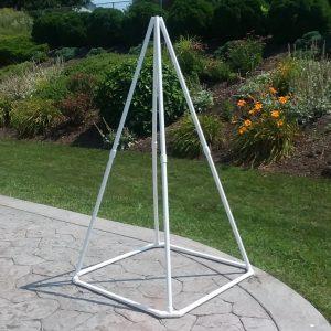 Medium White Pyramid