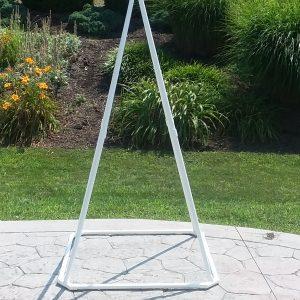 Small White Pyramid